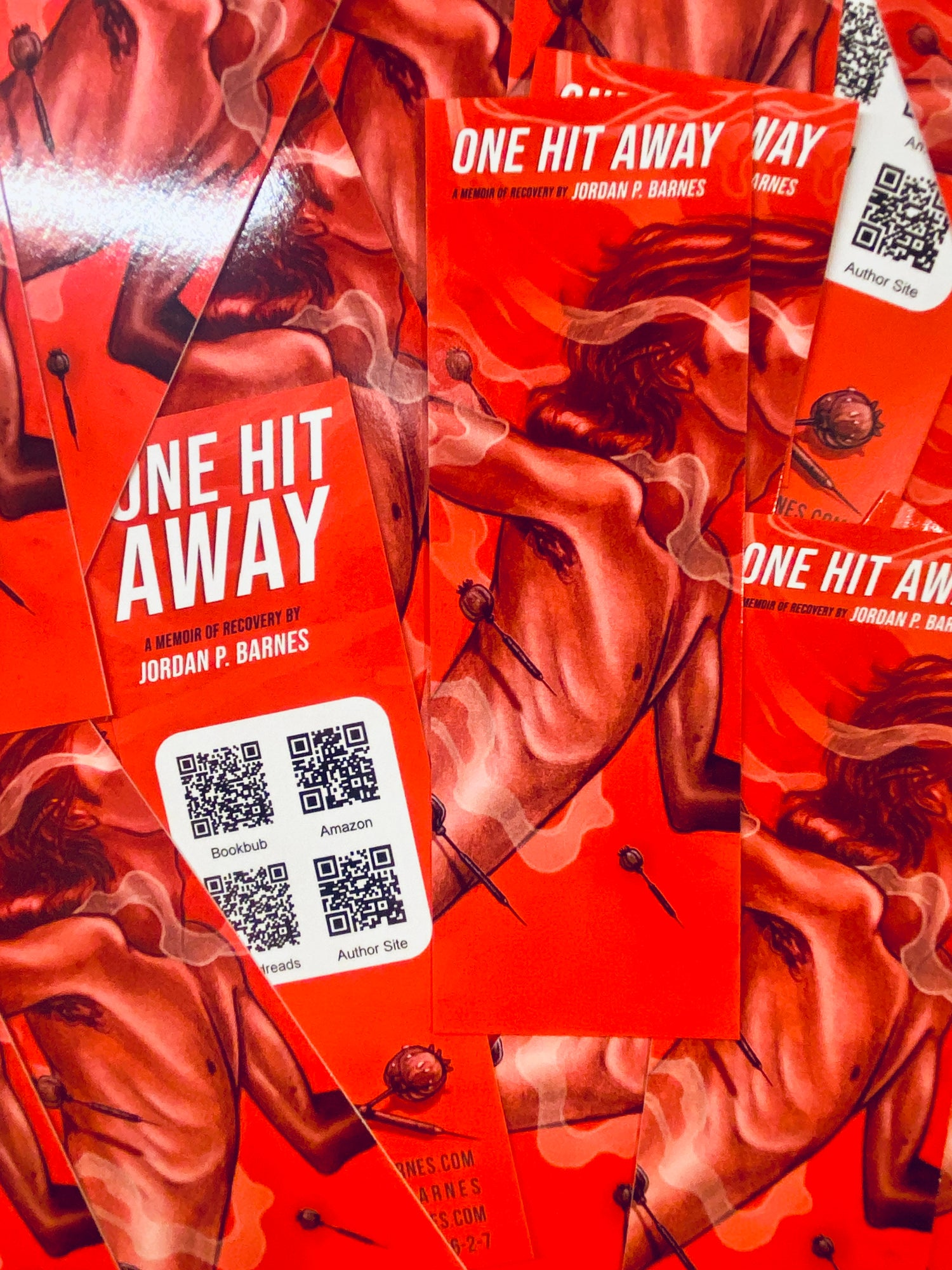 """Image of One Hit Away 2"""" X 6"""" Bookmark"""