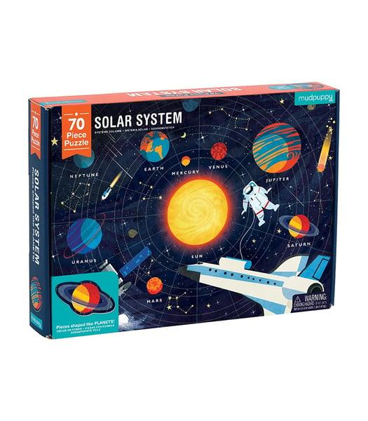 Image of Mudpuppy Solar System puzzle