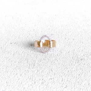 Image of Bague INTIMITE Plaqué or