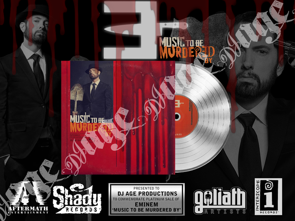 Image of Eminem Record Plaque