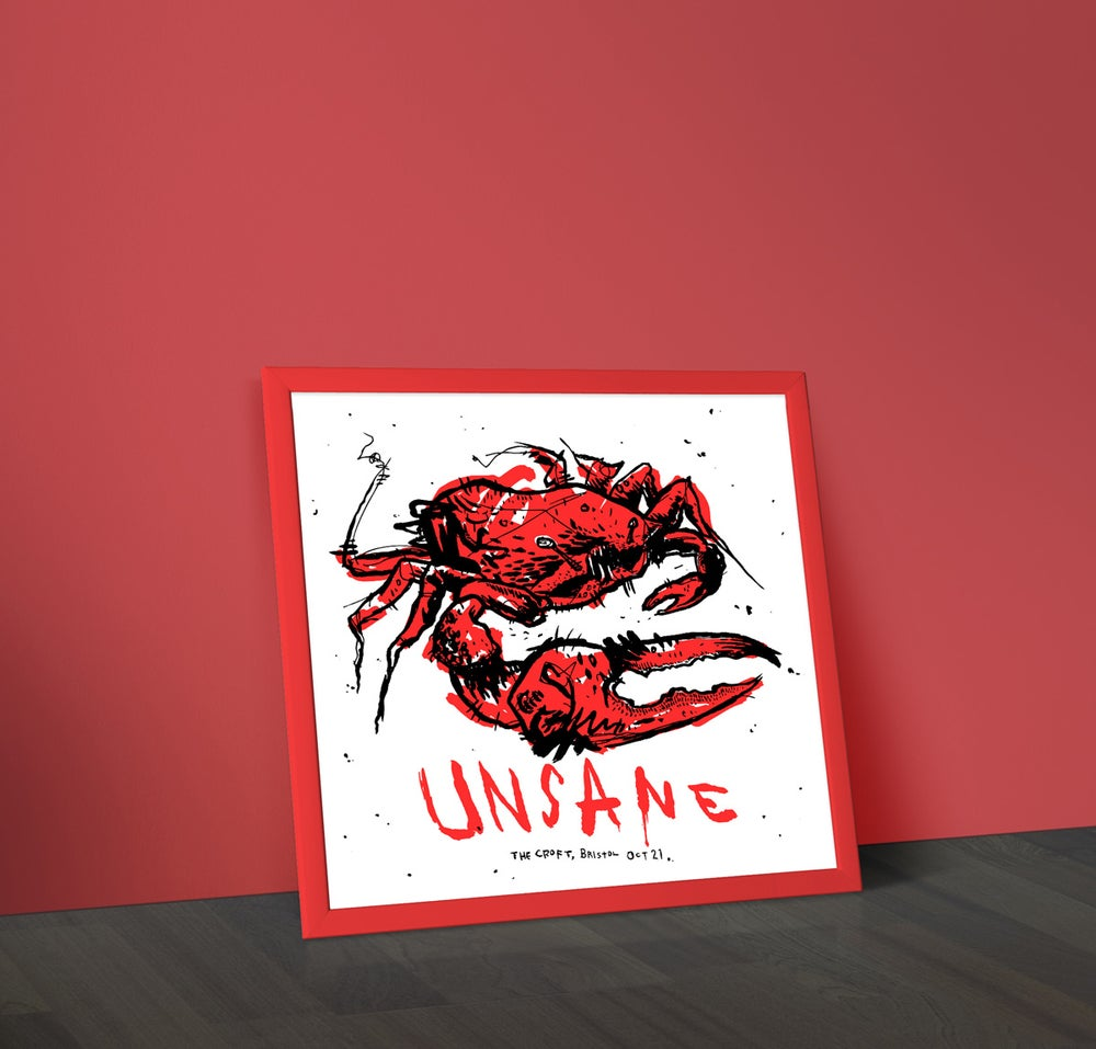 Image of Unsane - Screenprinted Gig Poster
