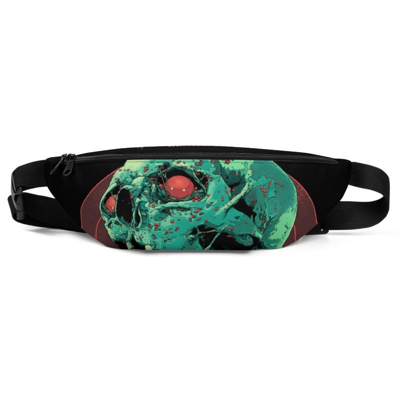 Image of Skull Full Of Blood Fanny Pack