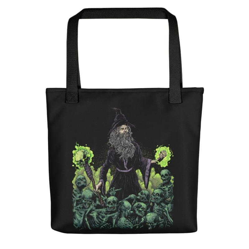 Image of NecroWizard Tote Bag