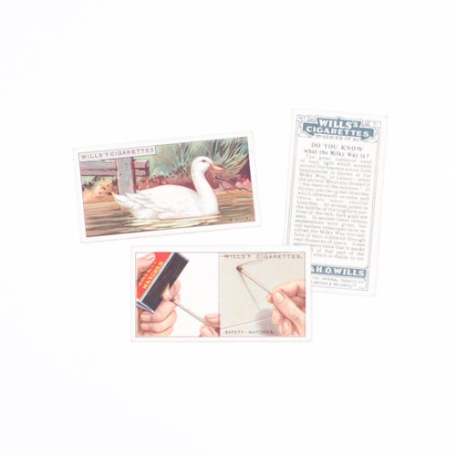 Image of Do You Know? Cigarette Cards - Set of 8