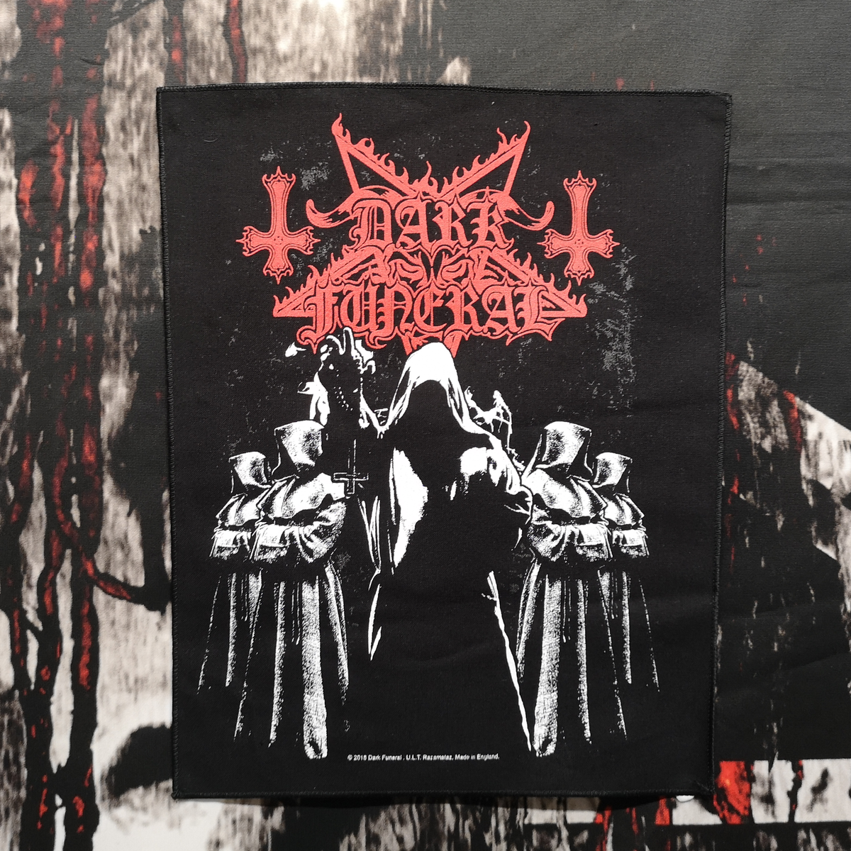 Image of Dark Funeral 'Shadow Monks' BACKPATCH