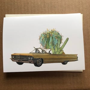 Image of Cactus Lovers greeting cards.