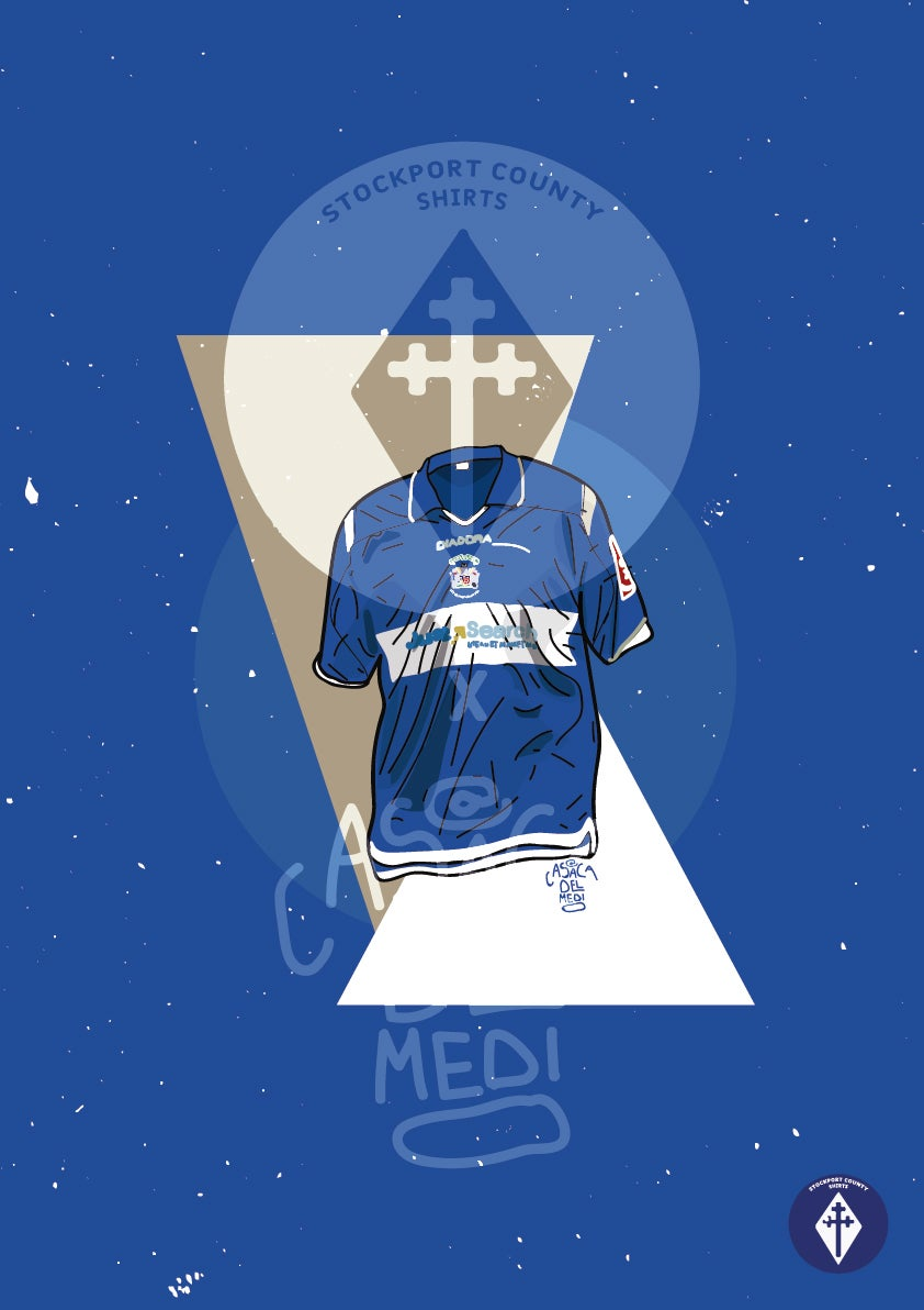 Image of Limited Edition 2007/08 Home Shirt Print
