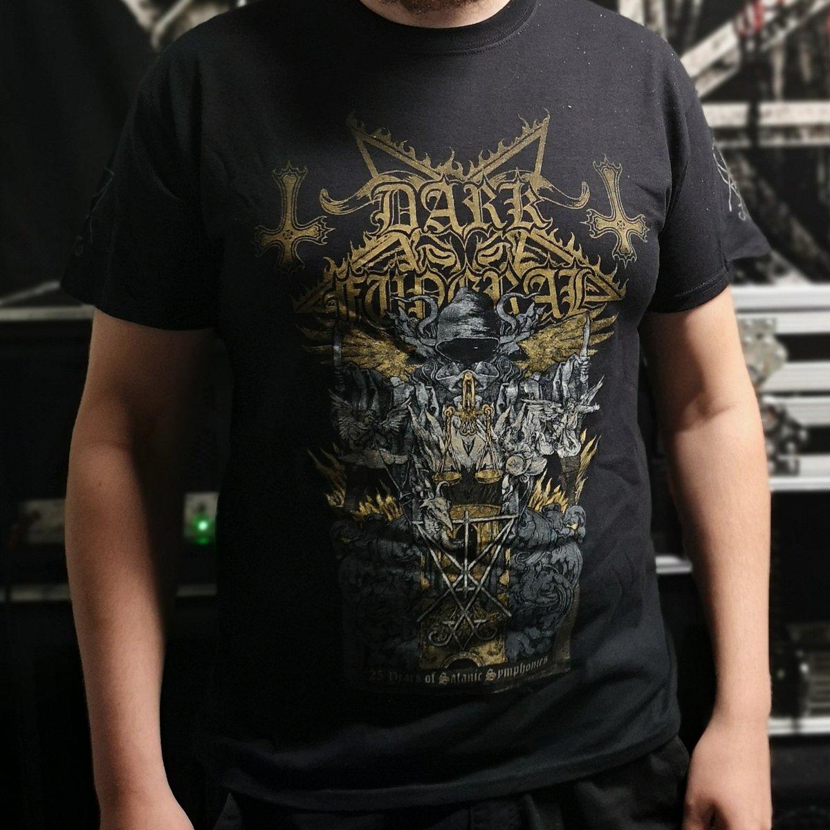 Image of Dark Funeral '25 Years Of Satanic Symphonies' T-Shirt