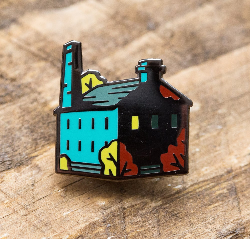 Image of Northern Craft Mill - Enamel Pin Badge