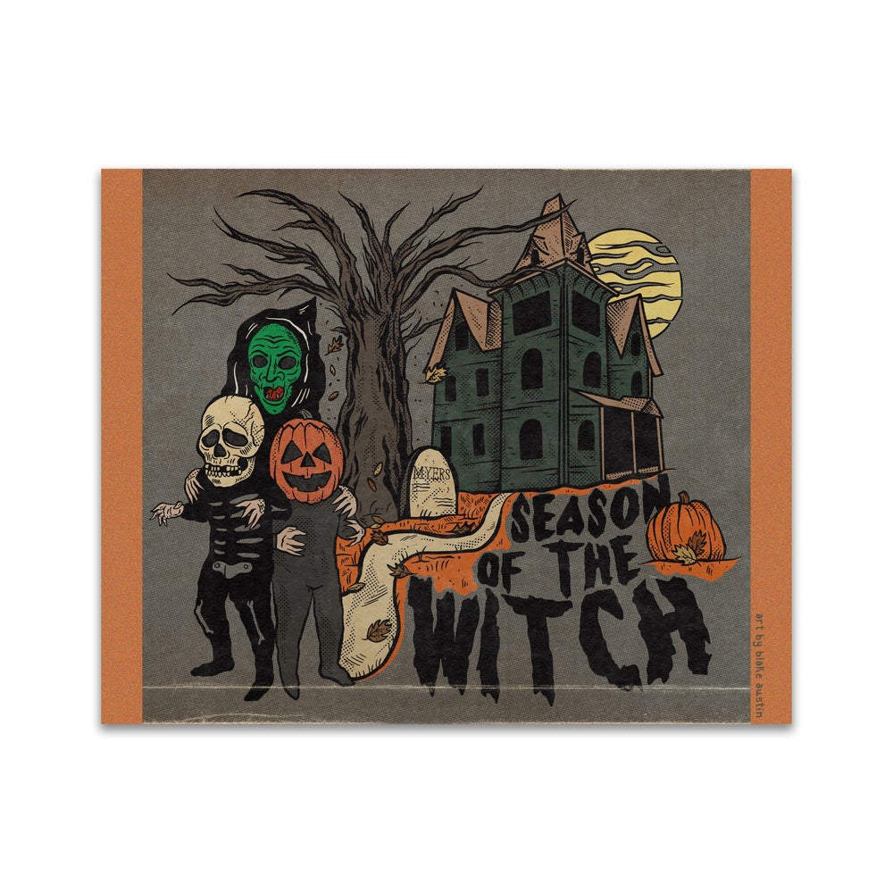 Image of Season of the Witch print