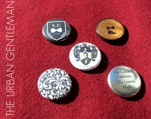 Image of The Urban Gentleman Badge/Pinback Set