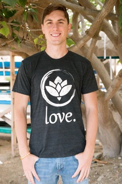 Image of 'Love.' T-Shirt (Black)