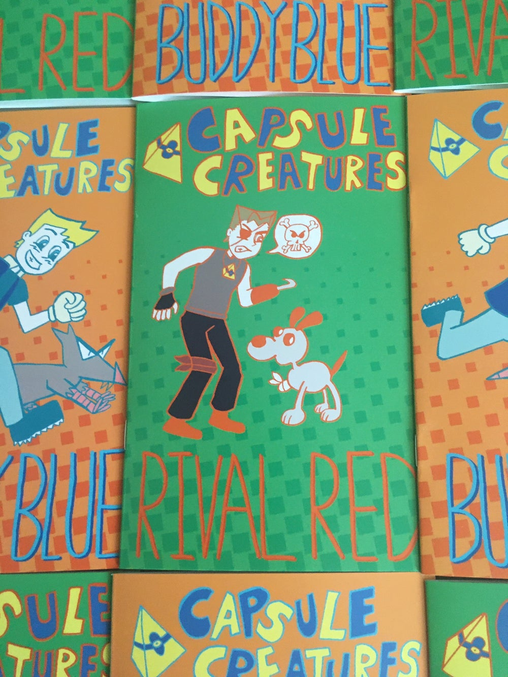 Capsule Creatures: Rival Red & Buddy Blue