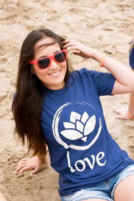 Image of 'Love.' T-Shirt (Indigo)