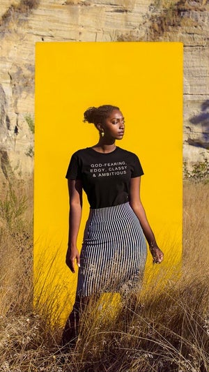 Image of 'ABOUT ME:' GOD-FEARING TEE