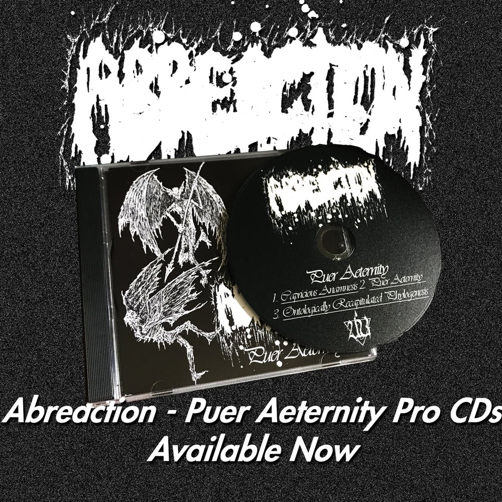 "Image of Abreaction - ""Puer Aeternity"" Pro CD"