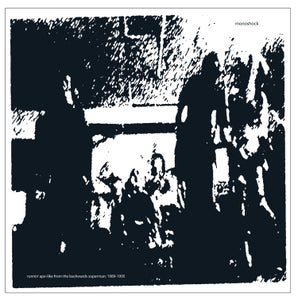 Image of Monoshock - Runnin' Ape-Like From The Backwards Superman: 1989 - 1995 (2xLP) CARDINAL FUZZ