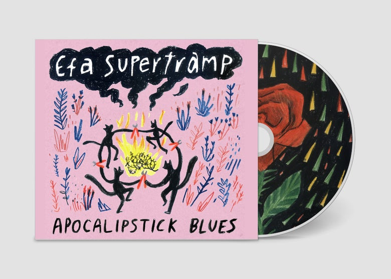 Image of PREORDER: Efa Supertramp - Apocalipstick Blues CD (Afiach 010)