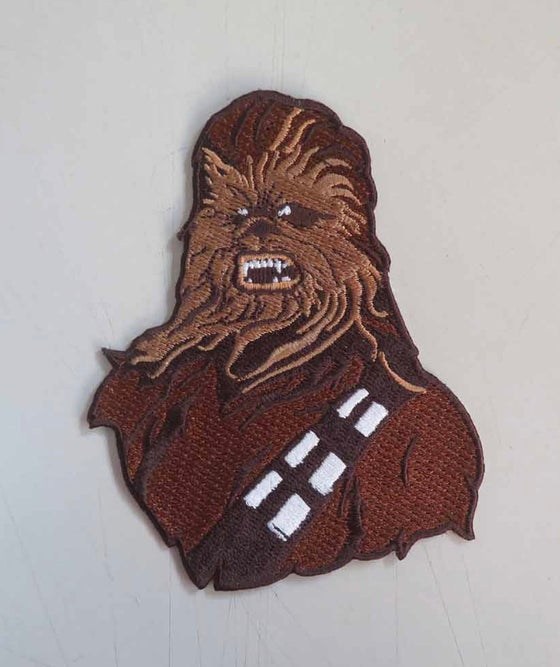 "Image of Chewbacca 4"" Patch Standard and Velcro  INSTOCK"