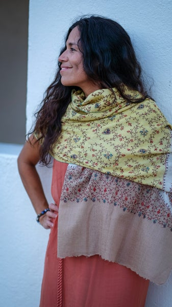 Image of  Tres colores pashmina