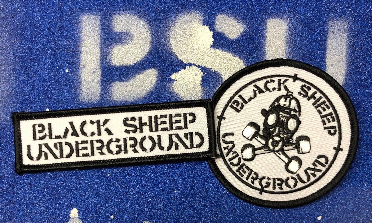 Image of BSU Target/Militia patch set