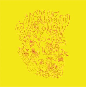Image of Herbcraft - Trash Heap (Toxic Yellow Vinyl with bonus ROBES Download) CARDINAL FUZZ