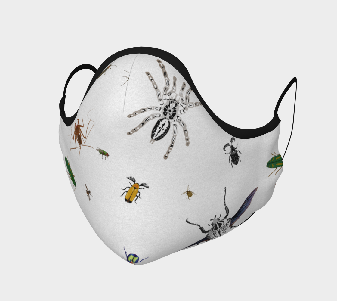 Image of Entomologist's Dream Face Mask