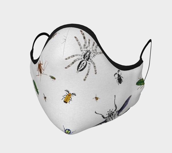 Image of Entomologist's Dream Face Mask
