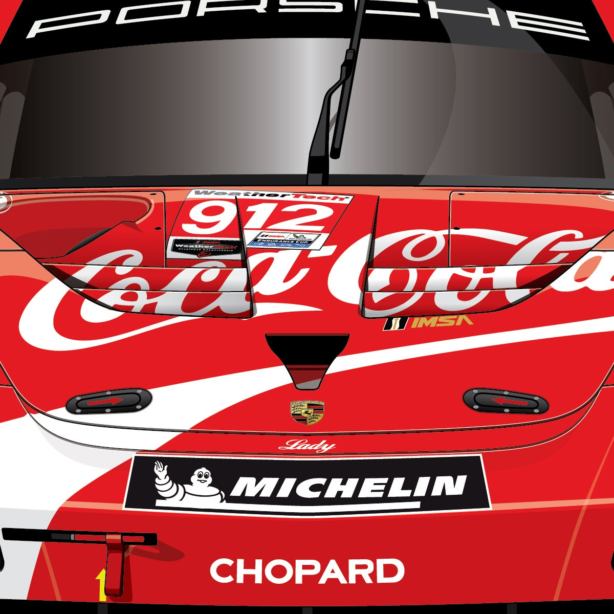 #912 'Coca-Cola' 911 RSR