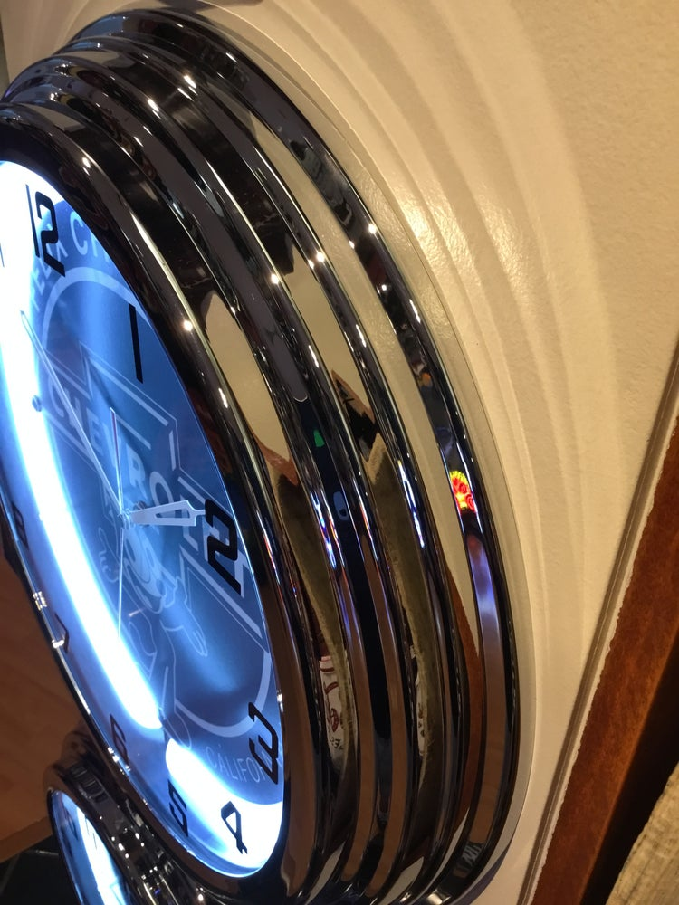 Image of Chevy neon clock