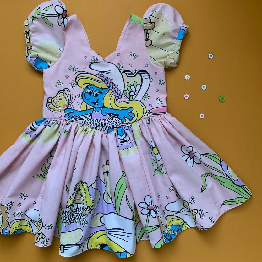 Image of Smurfette ooak 6Y