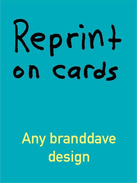 Image of Card Reprint - 6 pack