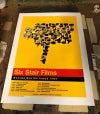 Six Stair Silk Screened Poster