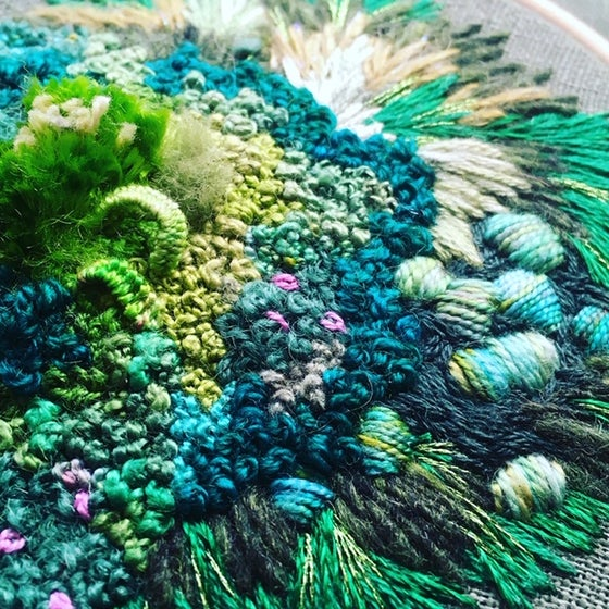 Image of Thursday Night stitching with Amy Jones NOV 12TH 5-8pm $90