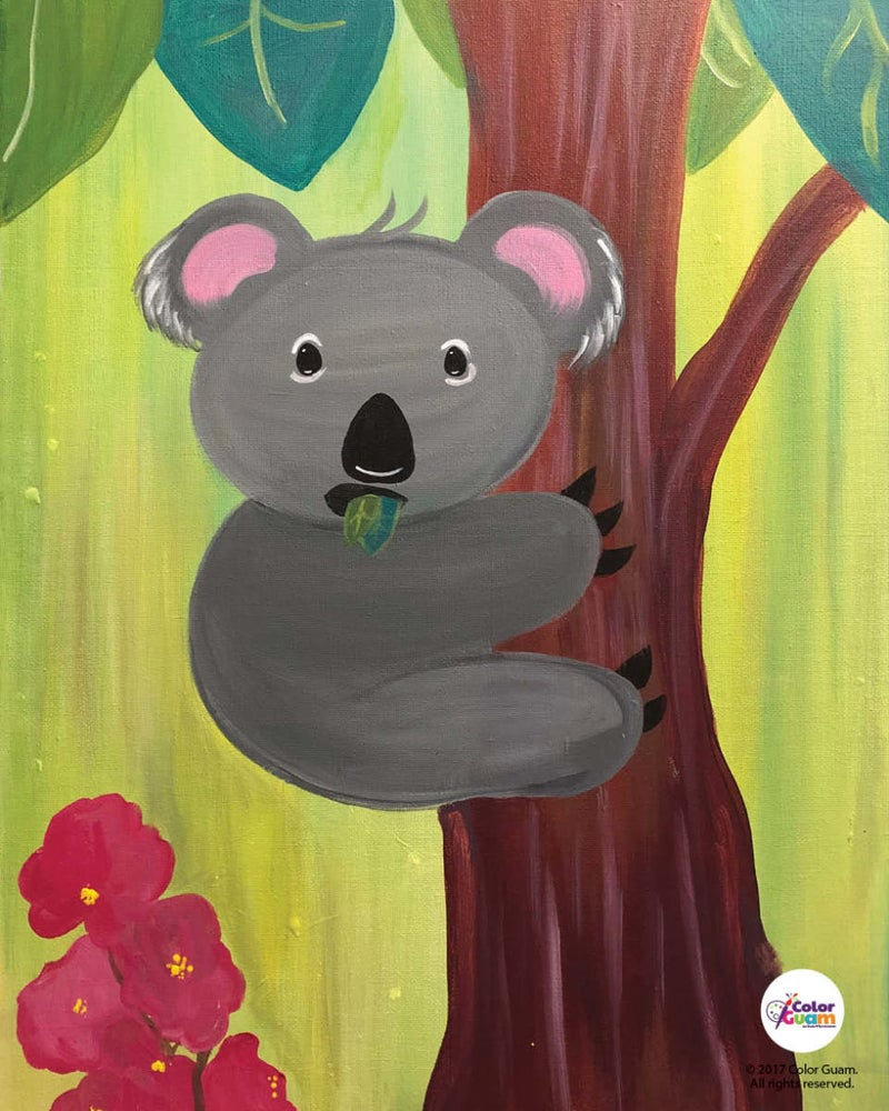 Image of Baby Koala Bear Art Kit