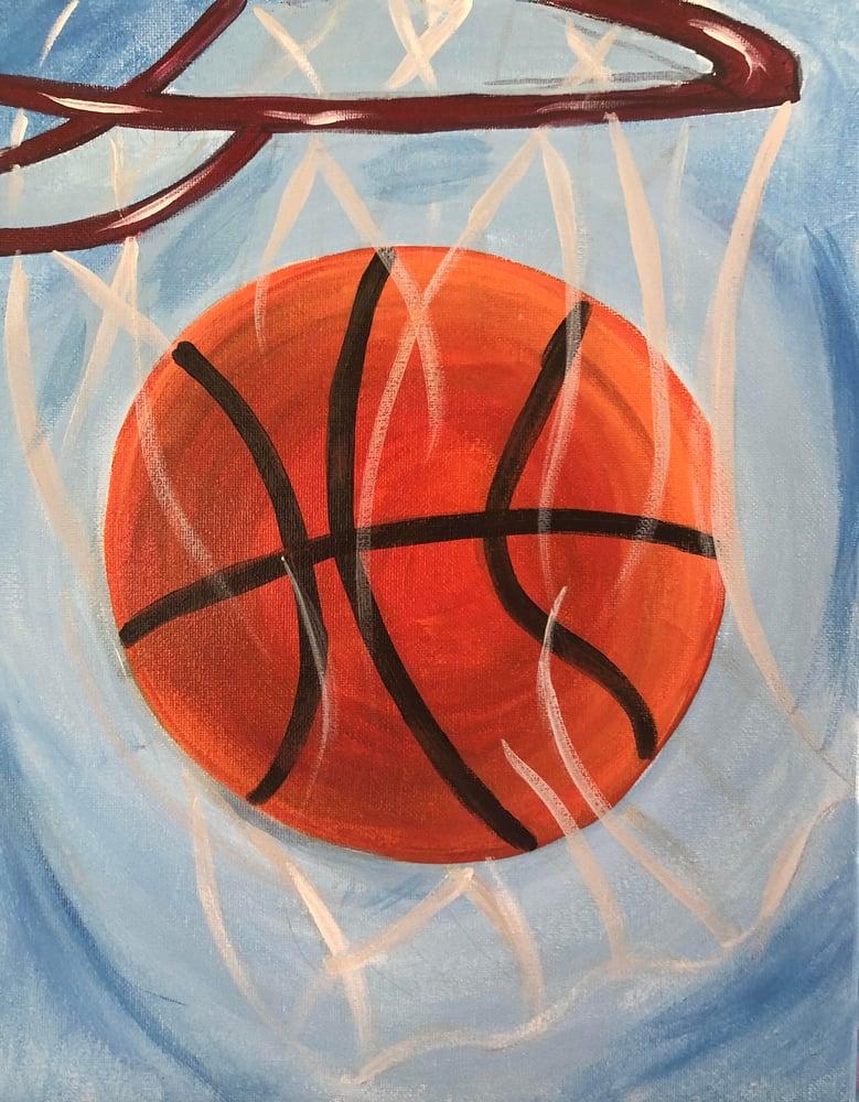 Image of Basketball Dunk Art Kit