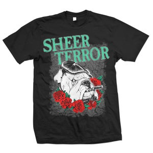 "Image of SHEER TERROR ""35th Anniversary Roses"" T-Shirt"