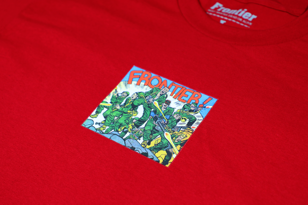 Image of Art Of War T-Shirt Red