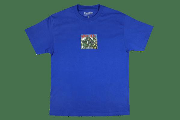 Image of Art Of War T-Shirt Blue