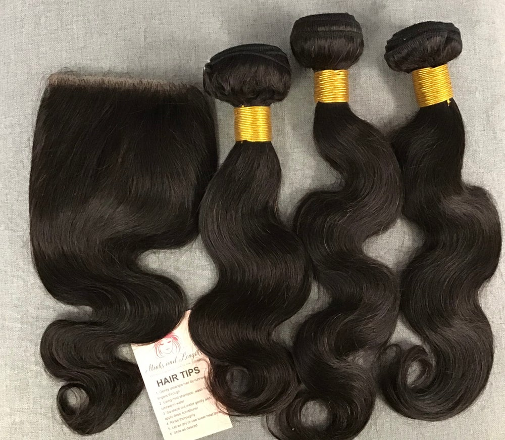 Body wave 12,14,16 closure 12