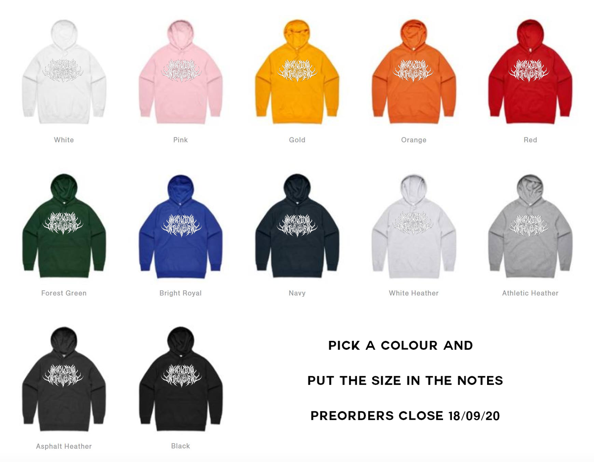 Image of ANY COLOUR Death Hoodie