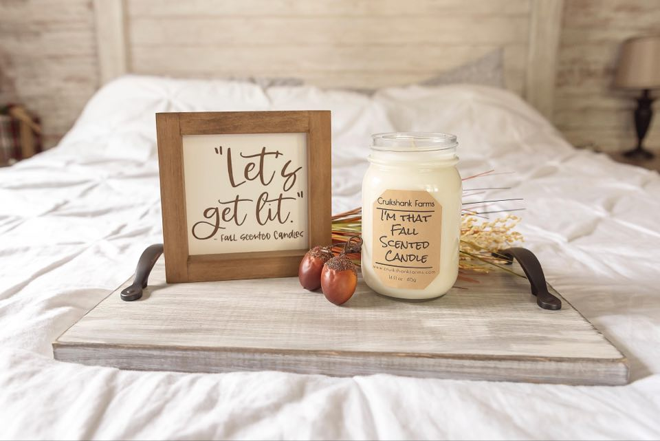 Image of I'm that fall scented candle
