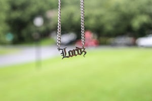 Image of Lordz Sterling Silver Script Chain