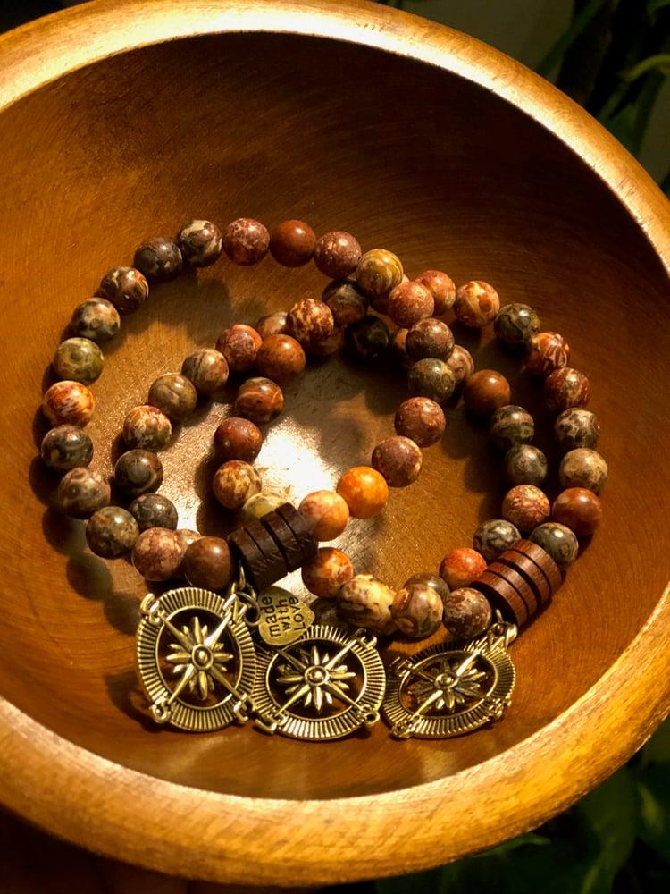 Image of LEOPARD JASPER Bracelet