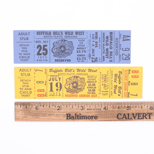 Image of 1970's Ticket Collection
