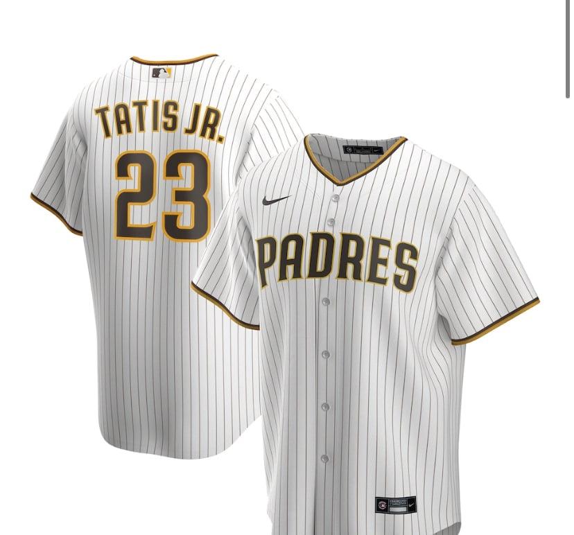 Image of Tatis jr Padres Jersey
