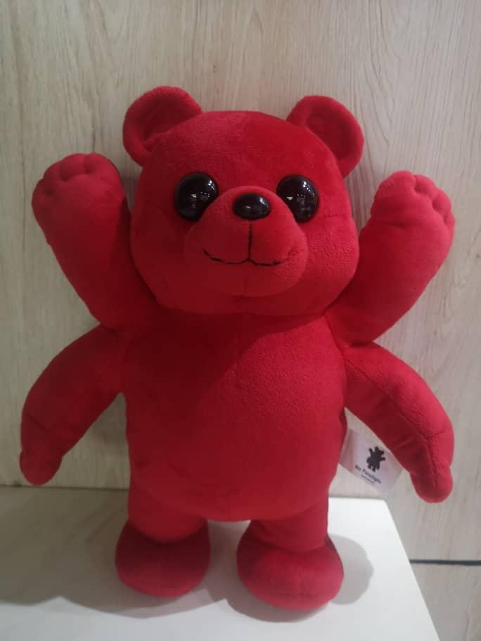 Image of Red Bearz Plush Toy.