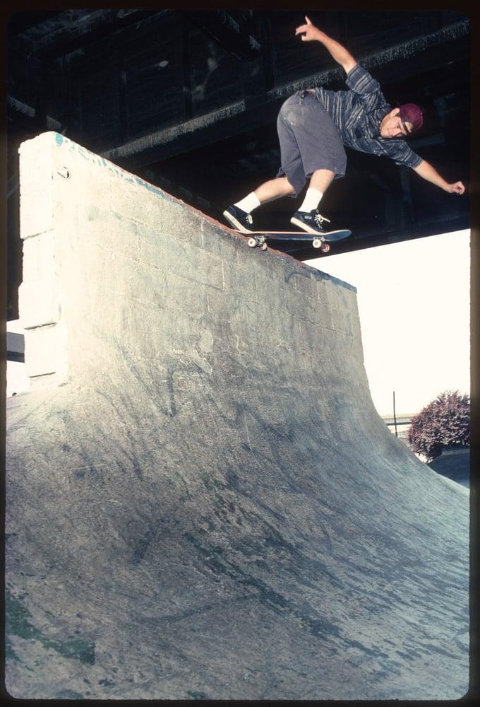 John Cardiel, Burnside 1994 by Tobin Yelland