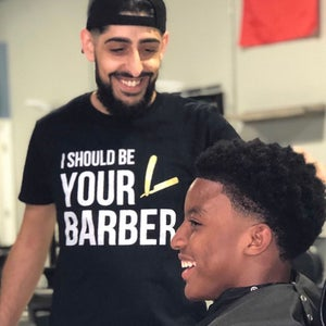 """Image of """"I Should Be Your Barber"""" Official T-shirt!"""