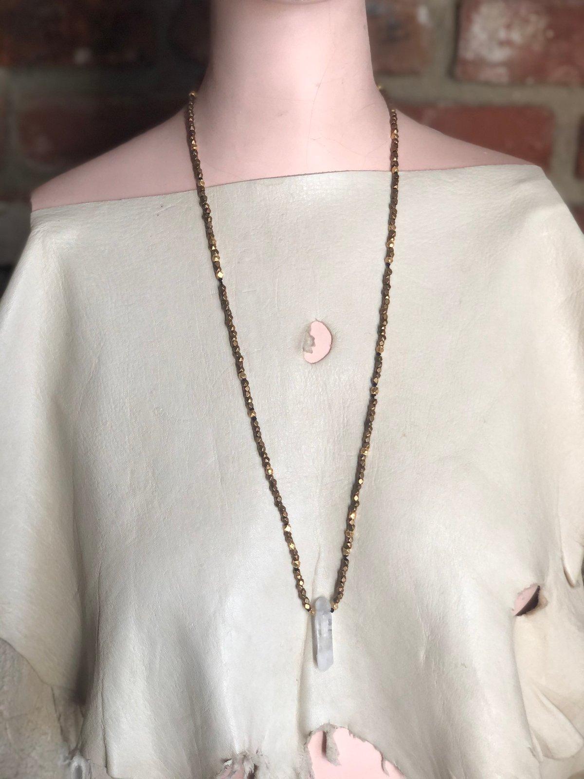SINGULAR LEMURIAN - brass beads